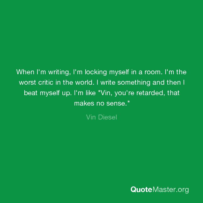write something about myself