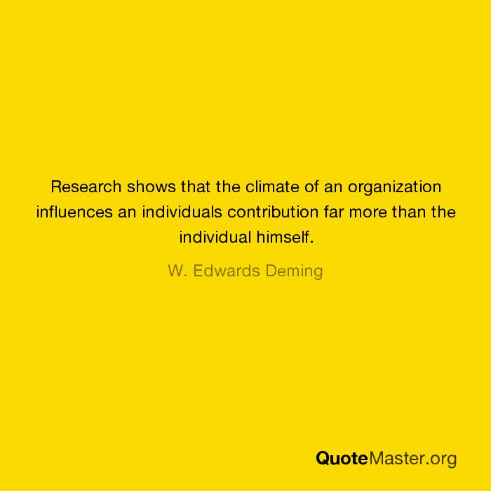 individual contribution to organization