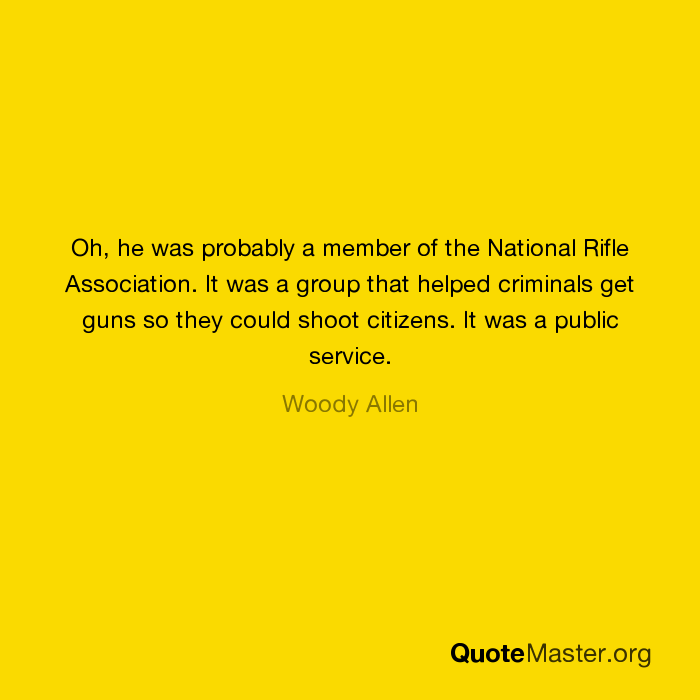 an overview of the national rifle association Information and news regarding the united states federal and state gun laws (ila) is the lobbying arm of the national rifle association of america.