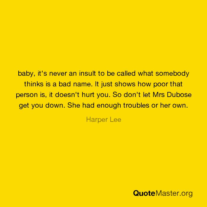 mrs dubose quotes