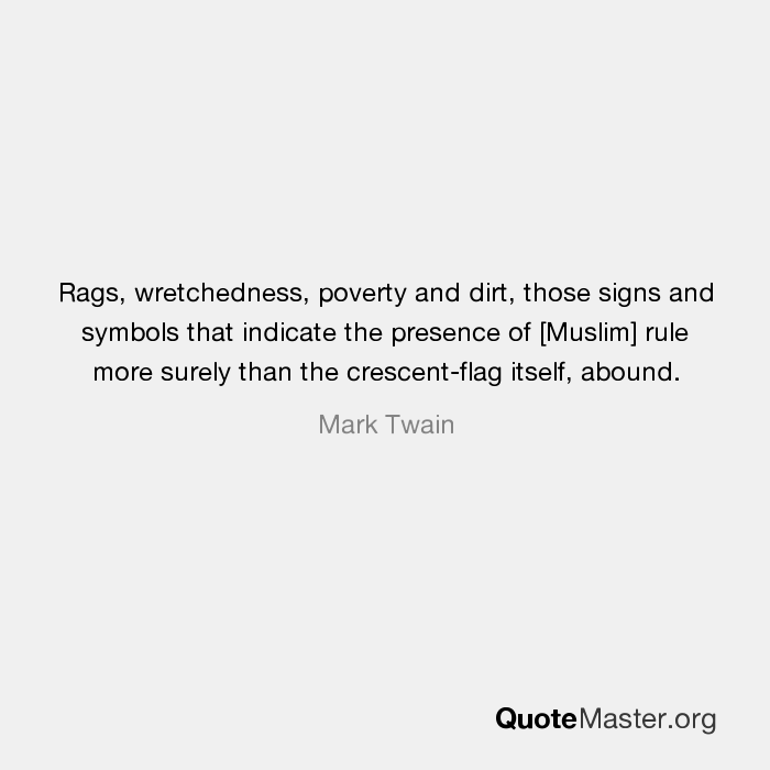 Rags Wretchedness Poverty And Dirt Those Signs And Symbols That