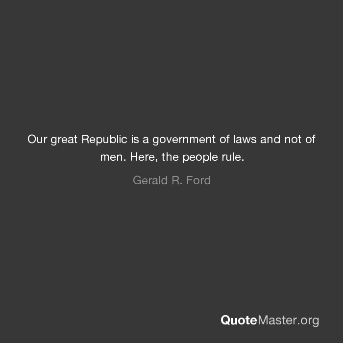 ours is a government of laws and not of men What does the phrase a government of laws, not men mean administrators are held accountable to sources of political legitimacy bureaucracy a generic strategy for.
