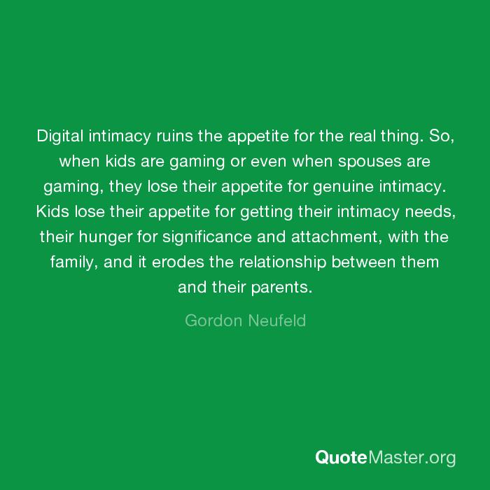 digital intimacy