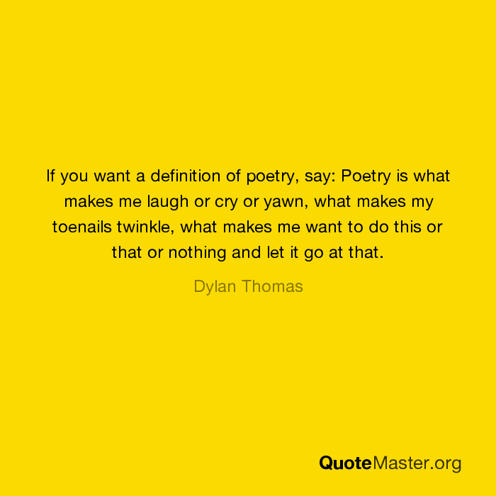 the definition of poetry