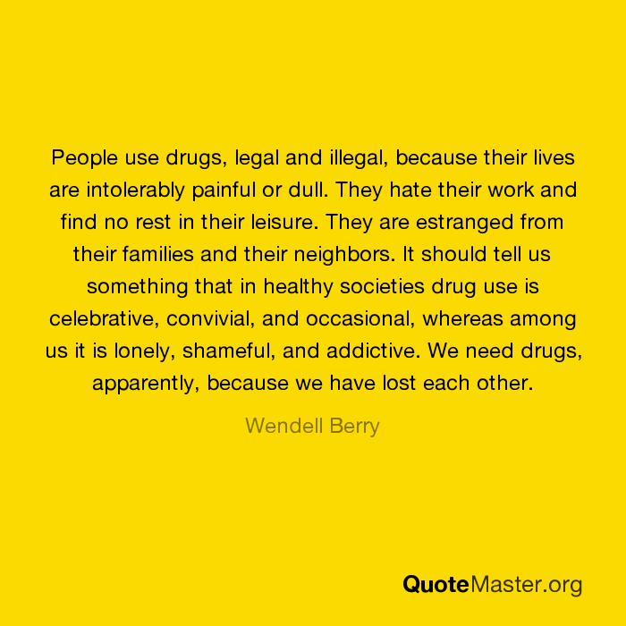 should illegal drugs be legalized