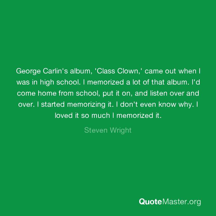 George Carlin: Class Clown
