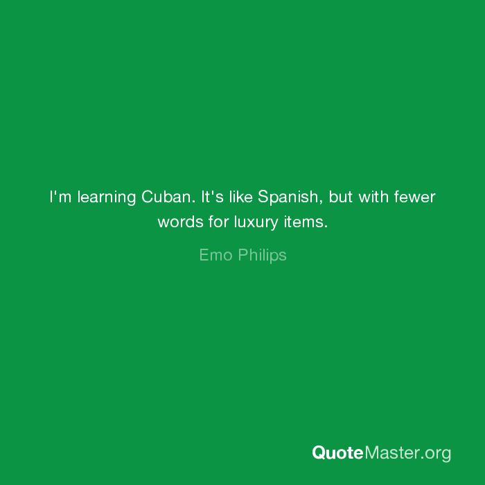 words like luxury