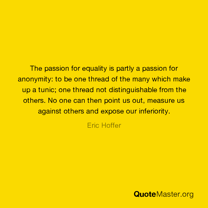 a passion for equality henry david Angelou's 'equality' is a poem without a stable form, but rather the structure of the poem flows in accordance with its own content here's an analysis.