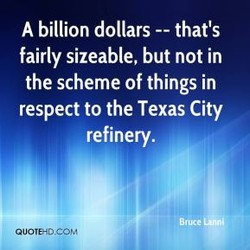A billion dollars that's 