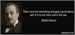 There must be something strangely sacred about 