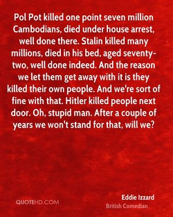 POI Pot killed one point seven million 