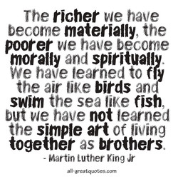 The richer vie have 