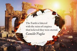The Earth is littered 