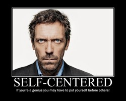 SELF-CENTERED 