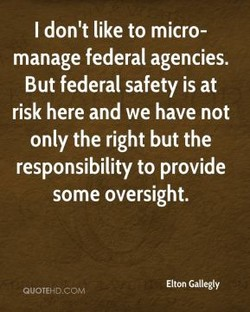 I don't like to micro- 