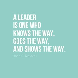 A LEADER 