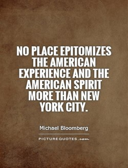 NO PLACE EPITOMIZES 