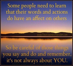 Some people need to learn 