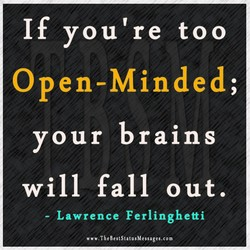 If you're too 