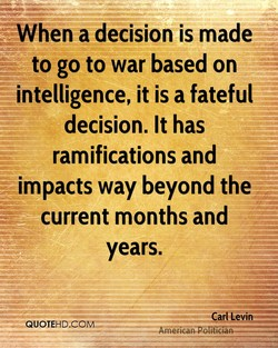 When a decision is made 