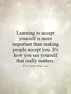 Learning to accept 