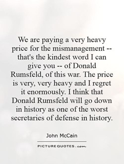 We are paying a very heavy 