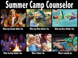 Summer Cam Counselor 