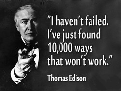 failed. 
