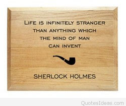 LIFE IS INFINITELY STRANGER 