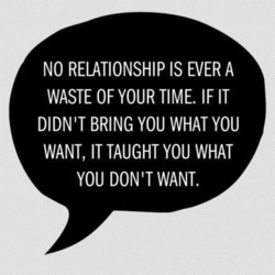 NO RELATIONSHIP IS EVER A 