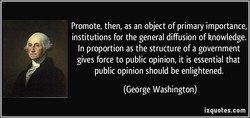 Promote, then, as an object of primary importance, 