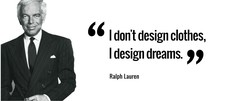I don't design clothes, 