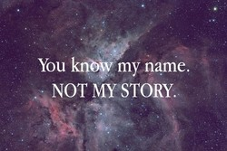 You my name. 
