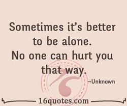 Sometimes it's better 