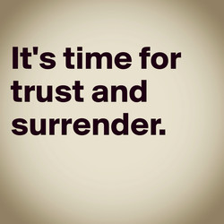 It's time for 