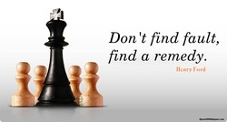 Don 't find fault, 