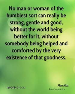 No man or woman of the 