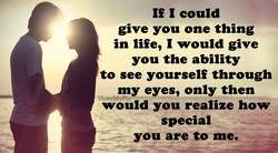 If 1 could 