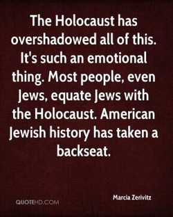 The Holocaust has 
