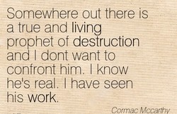 Somewhere out there is 