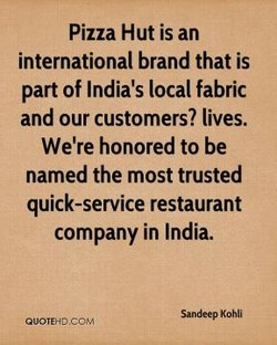 Pizza Hut is an 