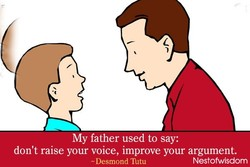 My father used to say: 