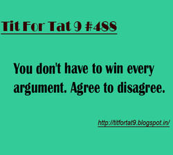 Tit for Tat 9 #4SS 