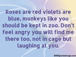 Roses are red violets are 