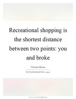Recreational shopping is 