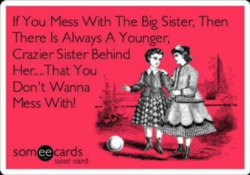 If You Mess With The Big Sister, Then 