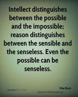 Intellect distinguishes 
