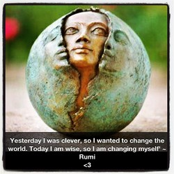 Yesterday I was clever, so I wanted to change the 