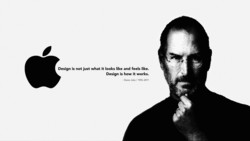 Design is not just what it looks like and feels like. 