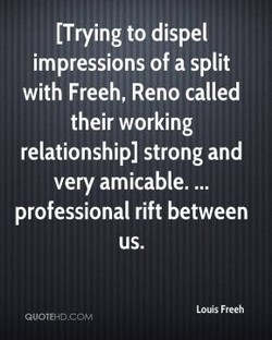 [Trying to dispel 